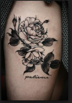 En traditionel tattoo er det fedeste